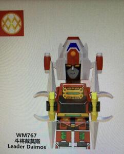 Simil-LEGO-General-Daimos-Leader-Daimos-Robot-Minifigures-New