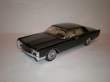 1/18 Bos Models 1968 Lincoln Continental Limousine Black LE of 1000