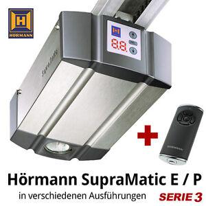 Hoermann-Garagentorantrieb-SupraMatic-E-P-Serie-3-BiSecur-mit-ohne-Schiene