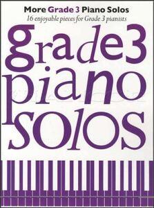 Amical Plus De Grade 3 Piano Solos Sheet Music Book 16 Agréable Pièces Pour Pianistes-afficher Le Titre D'origine MatéRiaux De Choix
