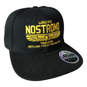 USCSS-Nostromo-Inspired-by-Alien-Adjustable-Snapback-Cap-Hat