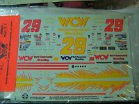 Slixx Decals 1/25 Steve Grissom 1996 Wcw Wrestling Monte Carlo Decal Set