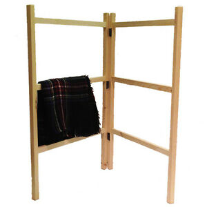 Details About Wooden Clothes Horse Airer Drier Traditional Home Hand Made Laundry