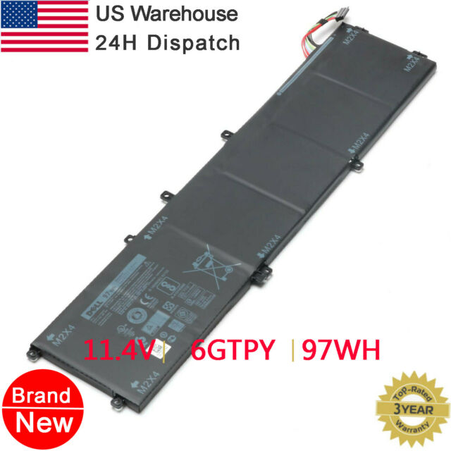 Genuine 97WH 6GTPY 5XJ28 Battery for Dell XPS 15 9560 9570 Precision 5520 05041C