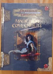 Details about Brand new! D&D 3 5 Magic Item Compendium (2007, first  print)(collectible & Mint)
