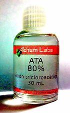 ATA - Ácido Tricloroacetico 80% - TCA 80% Para o Brasil