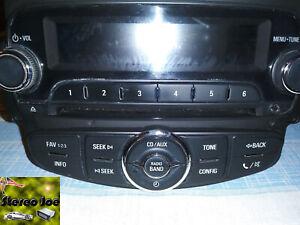 2014 Chevrolet Sonic CD MP3 Player Radio Receiver OEM 95365926