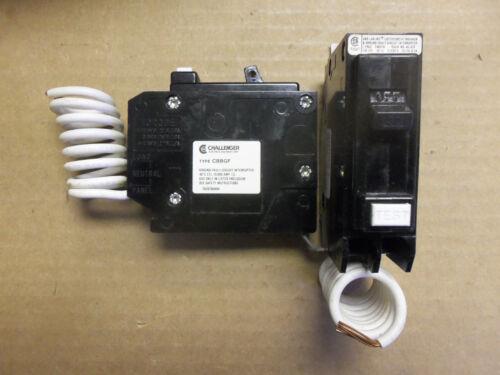 NEW CHALLENGER  CBBGF1030 30 amp 1 pole Circuit Breaker GFI qbgf1030 BAB