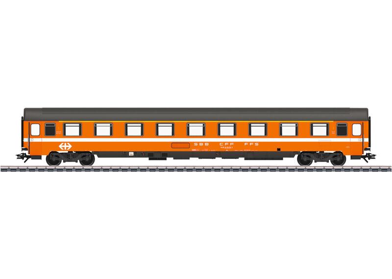 Märklin 43340 Reisezugwagen Eurofima Delle SBB 1. Classe # Nuovo in Scatola