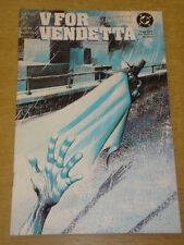 V FOR VENDETTA #7 DC COMICS ALAN MOORE DAVID LLOYD JANUARY 1989 X
