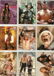 Xena-Topps-Season-1-complete-72-card-base-set-series-one