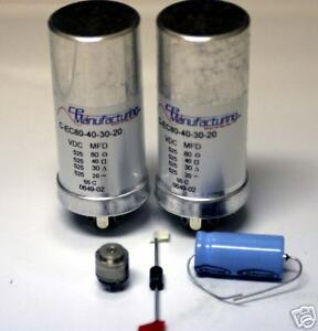 Details about Deluxe Power Supply Capacitor Refurb Kit McIntosh MC-60 Tube  Amplifier