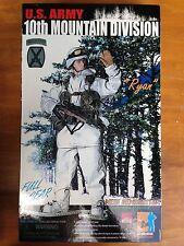 """DRAGON 12"""" 1:6 Scale U.S. ARMY 10TH MOUNTAIN DIVISION DESIGNATED MARKSMAN/SNIPER"""