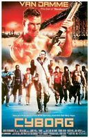 Cyborg Only Hope 26x40 Movie Poster Jean Claude Van Damme New/rolled