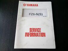 Yamaha FZ6-N (S) & YZF-R1 (S) 2004 Service Information Wartungsanleitung