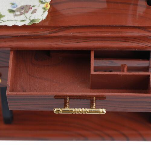 Musical Boxen Pedal Sartorius Spielzeug Retro Dekoration Vintage Nähmaschine^ Holzspielzeug