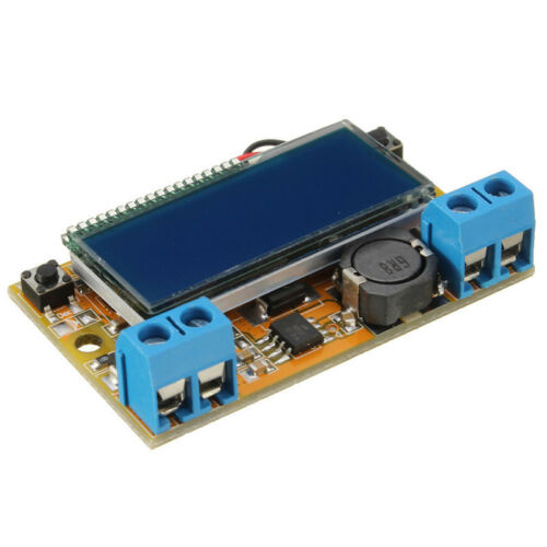 DC-DC step-down power supply adjustable push-button module with LCD display Hot