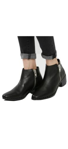 Sol Sana Studded Black Bootie