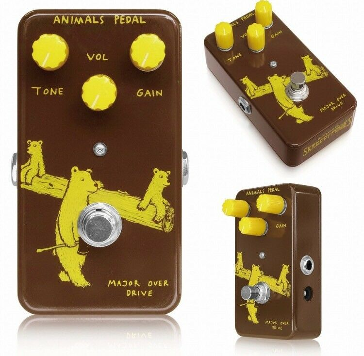 Animals Pedal Major Overdrive NEW GUITAR EFFECTS PEDAL w  Free Pick