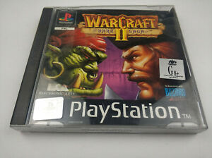 Mint Disc Ps1 Playstation 1 Warcraft Ii 2 Dark Saga Free