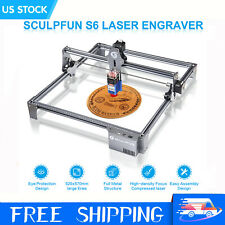 Sculpfun S6 Laser Engraver Cutting Machine Engraving For Wood Metal Cutter