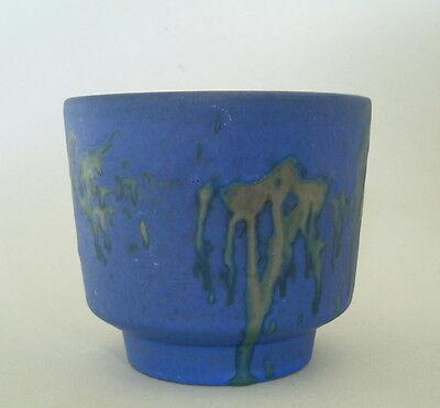 Fat Lava Vase Marei  Roth Keramik Vase  Blumenübertopf Nr. 12/2