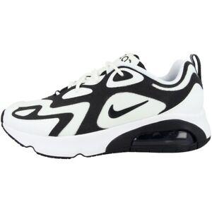 Detalles de Nike Air Max 200 Women Schuhe Damen Ocio Zapatillas Deportivas Blanco AT6175 104