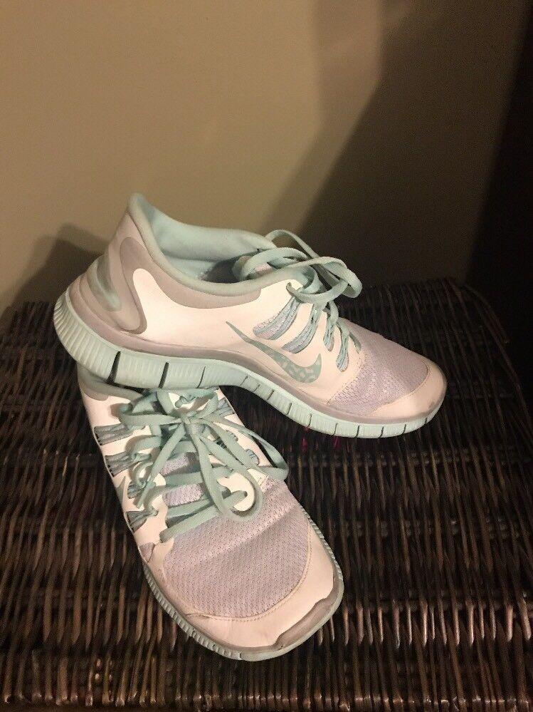 Nike Ladies Sz Free 5.0 Sz Ladies 9 Seafoam White 3a1d0f