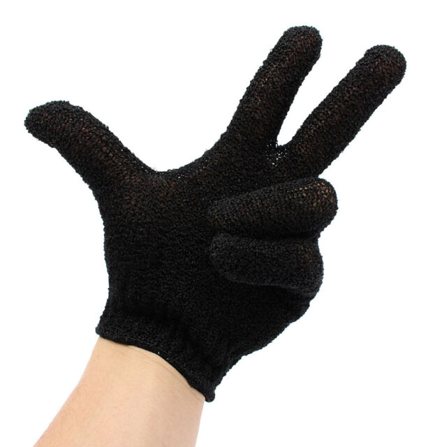 Hairdressing Straighteners Curling Tongs Wands Heat Proof Resistant Glove Black
