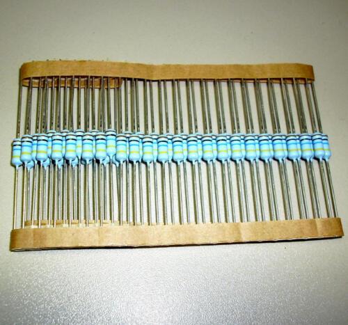 50 Stück Metalloxid Widerstände 10 MΩ / 1 Watt (M0395)