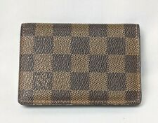 Louis Vuitton Damier Pocket Organizer Card Case N61721 Mi2087