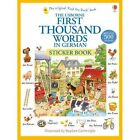 First Thousand Words in German Sticker Book by Heather Amery (Paperback, 2014)