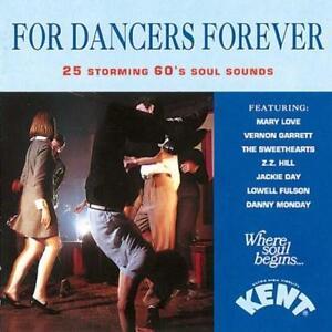 FOR-DANCERS-FOREVER-Various-Artists-NEW-amp-SEALED-NORTHERN-CD-KENT-60s-SOUL-R-amp-B