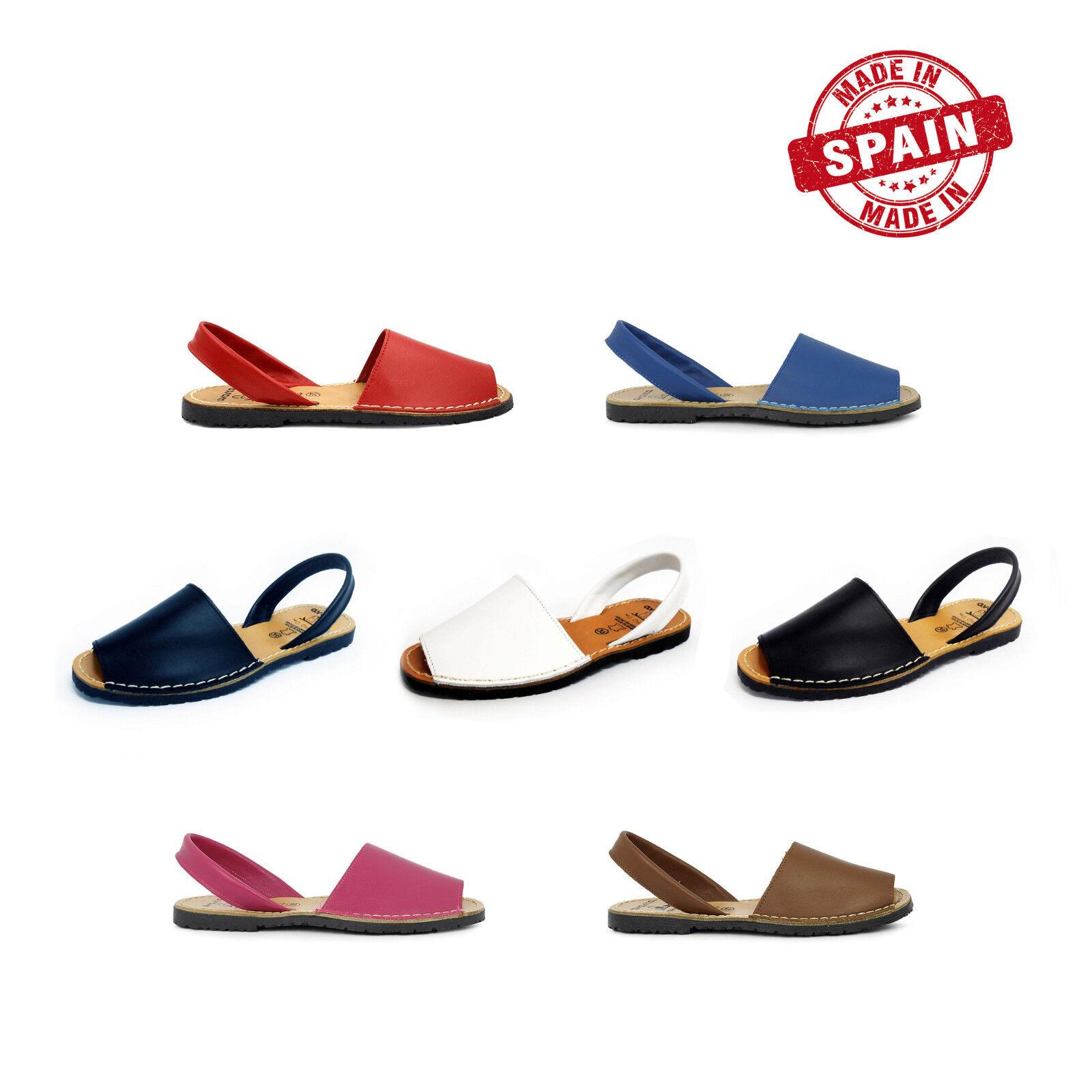 Avarcas Menorcan Ibicencas Sandals leather Woman size 35 36 37 38 39 40 41