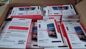 130 WHOLESALE Tech21 Impact Shield Self Healing Screen Protector HTC ONE M9 OEM