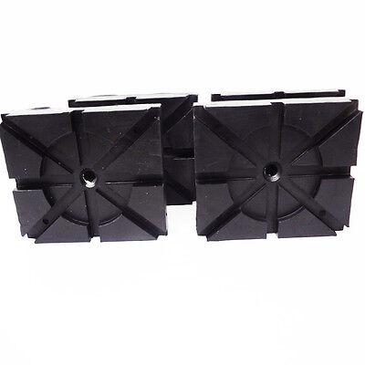 RECTANGLE RUBBER PADS  Wheeltronic Lift Ammco Lift Magnum Lift set of 4 pads HD