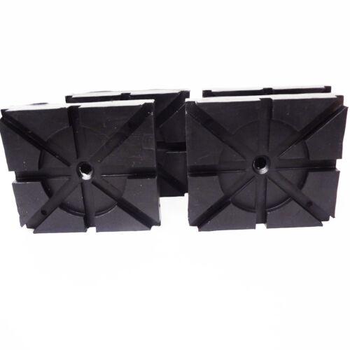 RECTANGLE RUBBER PADS  Wheeltronic Lift Ammco® Lift Magnum Lift set of 4 pads HD