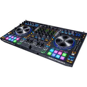 Denon-DJ-MC7000-4-Channel-Serato-DJ-Controller-Digital-Mixer-with-Dual-USB