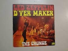 """LED ZEPPELIN: D'yer Mak'er 4:22-The Crunge 3:12-France 7"""" 73 Atlantic 10377 PSL"""