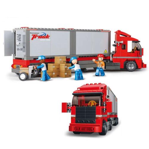 Blocksteine Sluban-B0338 Lastwagen Kraftfahrzeug Auto OVP Puzzle-Blöcke Geschenk