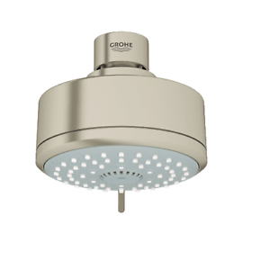 Grohe 27591000 New Tempesta Cosmopolitan 100 Shower Head With 4 Sprays
