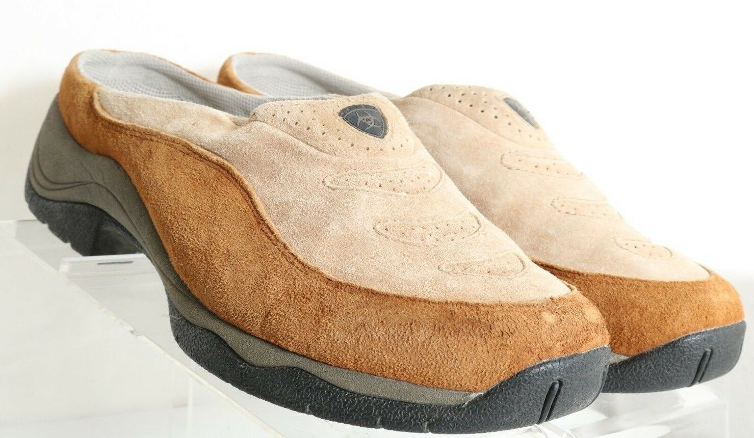Ariat ATS Technology Tan Slip-On Comfort Mule 70223 USA Women's US 10 B