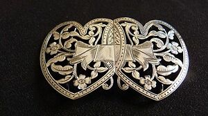 """Sterling Silver """"nurses"""" Buckle G.e.walton & Co.ltd 1898 Aromatic Character And Agreeable Taste Non-u.s. Silver"""