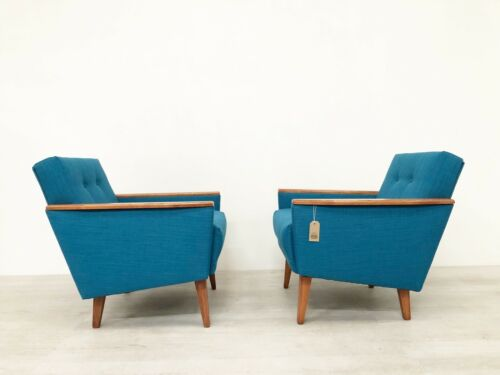 SINGLE DANISH MID CENTURY 50S INSPIRED LOW BACK COCKTAIL LOUNGE CHAIR IN TEAK