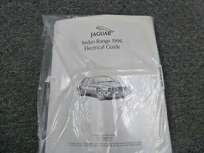 1996 jaguar xj xj6 xj12 xjr sedan electrical wiring diagrams ... xj12 wiring diagram  ebay