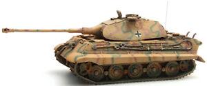 Ho-Roco-Minitanks-6th-Panzer-Armee-King-Tiger-Tank-A967-387-75-CM-Main-Peint