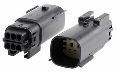 Black NM-33482-0601* Namz Molex MX 150 Male Connector  6-Pin