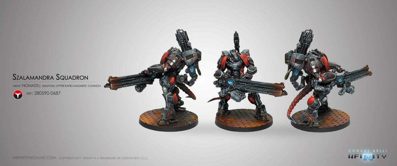 Infinity Nomads Szalahommedra Squadron  Corvus Belli Inf 280590 Tag T. A.G  à vendre en ligne