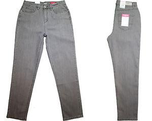 Stooker-Nizza-Damen-Stretch-Jeans-Hose-Taupe-Slub-Wash