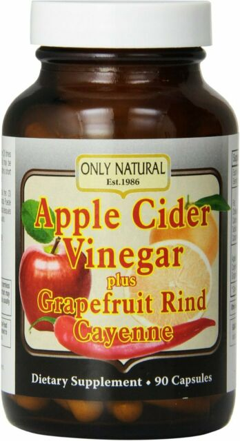 Apple Cider Vinegar Plus by Only Natural, 90 capsule